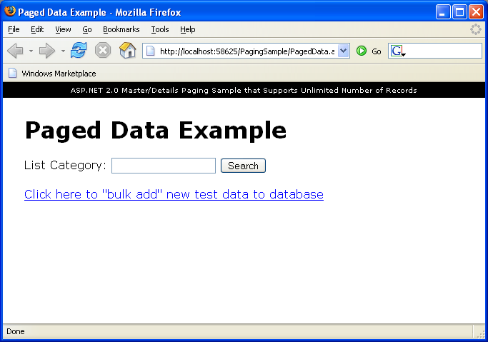 ScottGu's Blog - Paging through lots of data efficiently