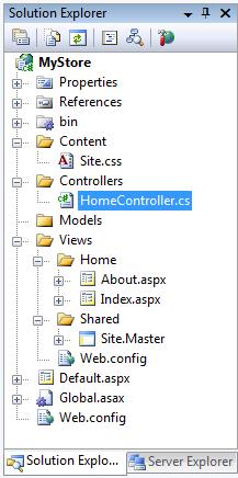 在你使用这个更新的asp.net mvc项目模板创建一个新