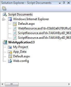ScottGu's Blog - VS 2008 JavaScript Debugging