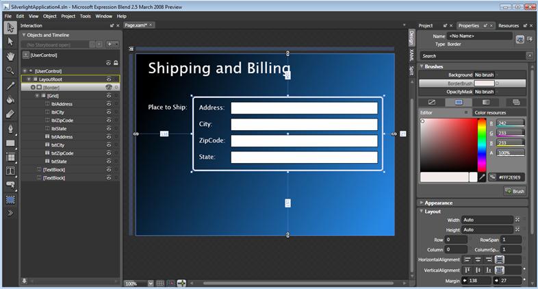 wpf ui templates - scottgu 39 s blog tip trick creating and using silverlight