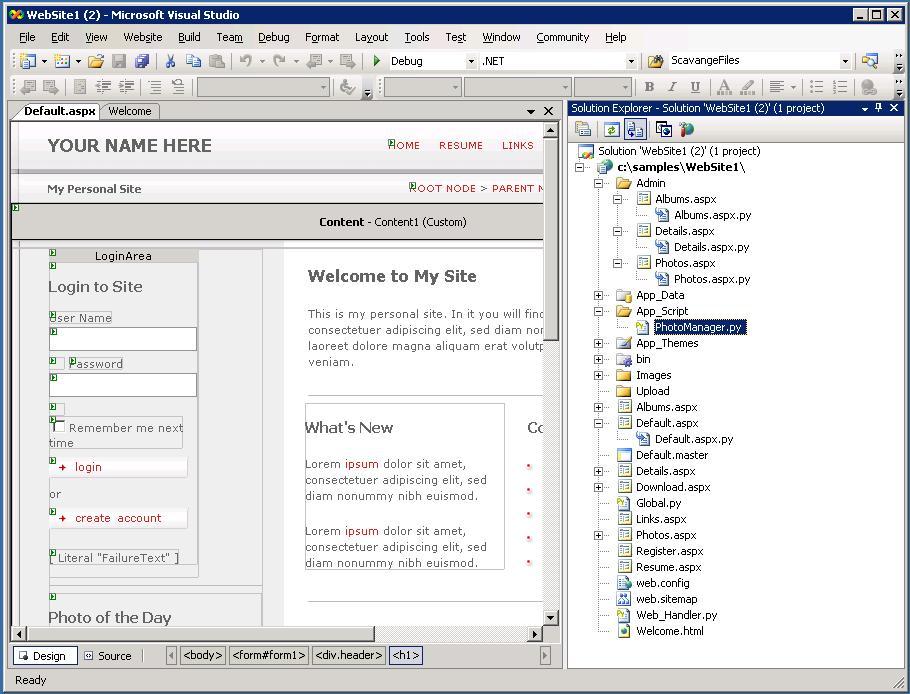 asp net formview tutorial