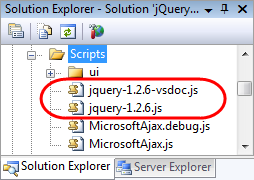 ScottGu\u0027s Blog - jQuery Intellisense in VS 2008