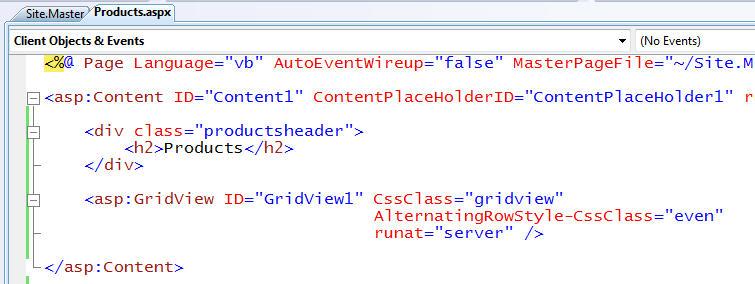 ScottGu's Blog - LINQ to SQL (Part 5 - Binding UI using the
