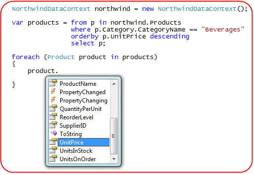 ScottGu's Blog - LINQ to SQL (Part 6 - Retrieving Data Using
