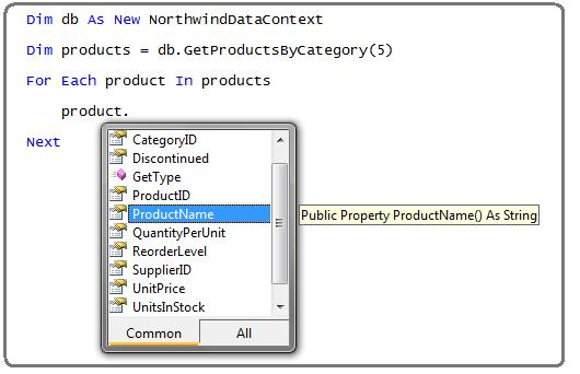 step14 Using LINQ to SQL (Part 1)