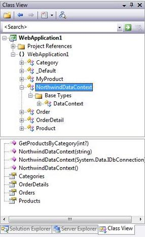 step2 Using LINQ to SQL (Part 1)