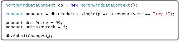 step5 Using LINQ to SQL (Part 1)