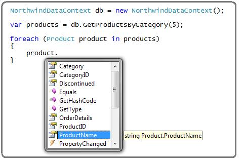 step7 Using LINQ to SQL (Part 1)