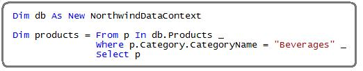 step9 Using LINQ to SQL (Part 1)