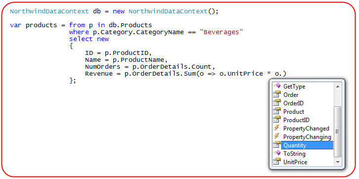 Scottgus Blog Linq To Sql Part 3 Querying Our Database