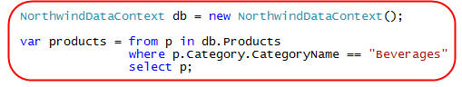 step2 LINQ to SQL (Part 3   Querying our Database)