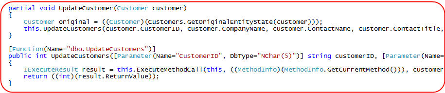 ScottGu's Blog - LINQ to SQL (Part 7 - Updating our Database using