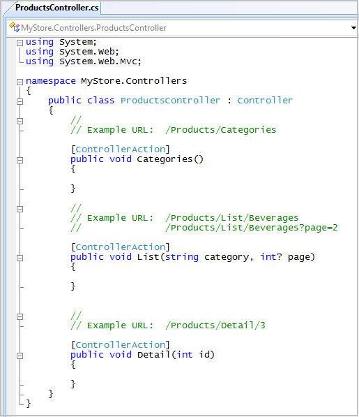 ScottGu's Blog - ASP NET MVC Framework (Part 2): URL Routing