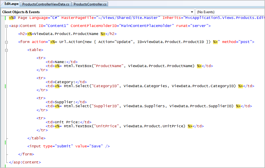ScottGu's Blog - ASP.NET MVC Framework (Part 4): Handling Form ...