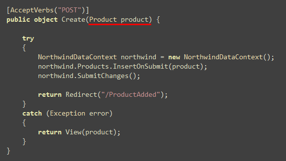 ScottGu's Blog - ASP NET MVC Preview 5 and Form Posting Scenarios