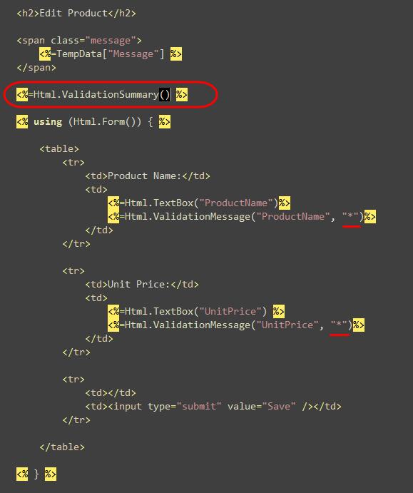 ScottGu's Blog - ASP NET MVC Preview 5 and Form Posting Scenarios