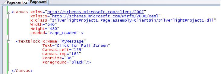 ScottGu's Blog - Tip/Trick: Supporting Full Screen Mode with Silverlight