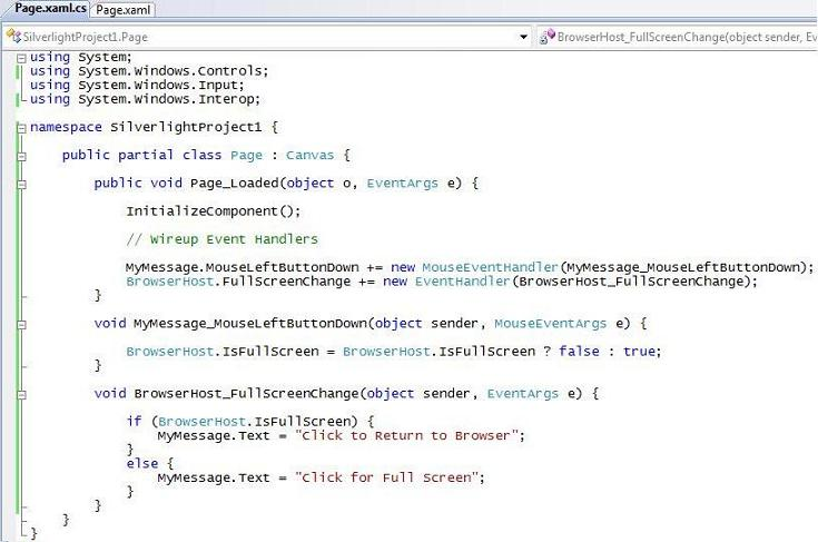 ScottGu's Blog - Tip/Trick: Supporting Full Screen Mode with