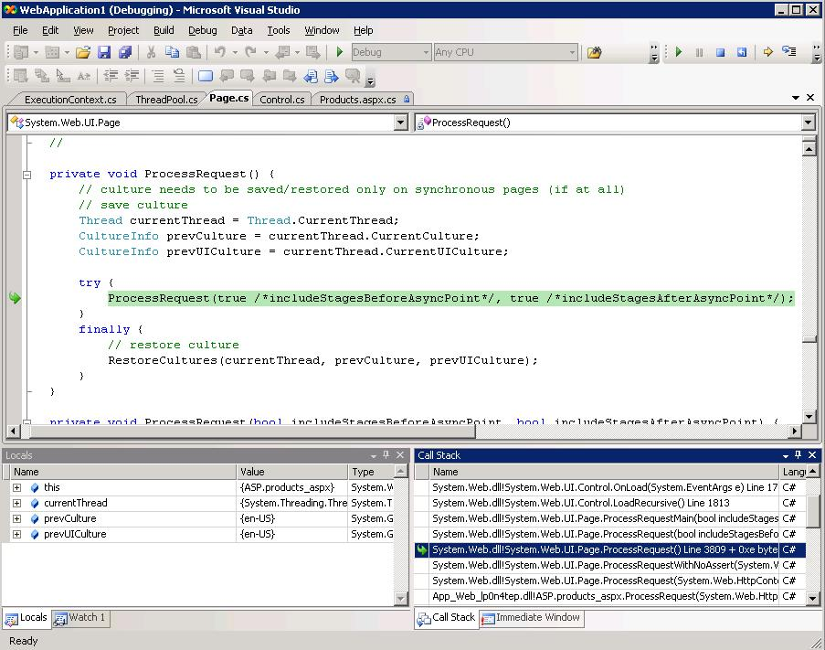 ScottGu's Blog - Releasing the Source Code for the  NET