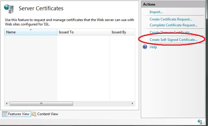 ScottGu\'s Blog - Tip/Trick: Enabling SSL on IIS 7.0 Using Self ...
