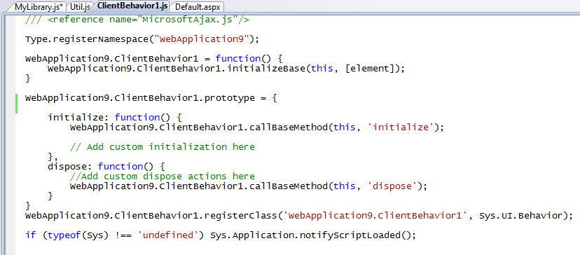 ScottGu's Blog - VS 2008 JavaScript Intellisense